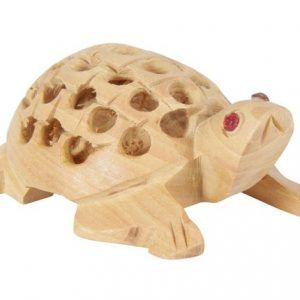 Wood Handmade Hand Carved Turtle