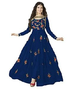 Anarkali Embroidered Fancy Gown