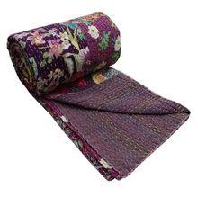 Kantha Blanket Reversible Throw