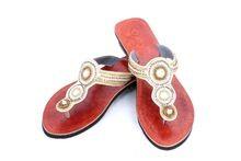 Women Leather Moroccan Sandal