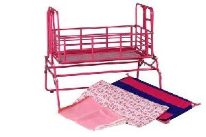Pink Foldable Cradle