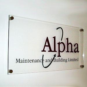 Acrylic Signage Board
