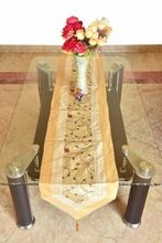Silk Brocade Table Coaster Runner Cover
