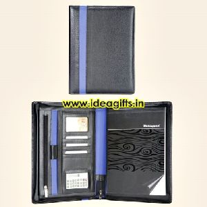 Pu Leatherette File Portfolio Folders