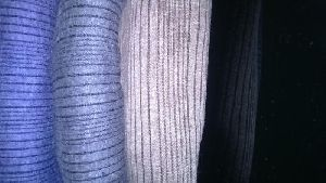 Striped Cotton Thermal Fabric