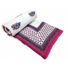 Handmade Jaipuri Silk Quilt