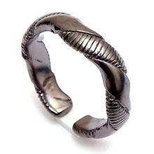Black Rhodium Fashion Handmade Jewelry Ring