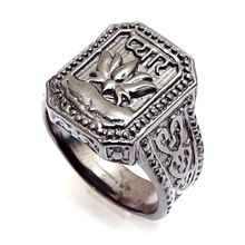 Rhodium Fashion Handmade Ring Jewelry