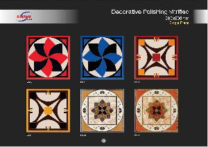 Decorative Polishing Vitrified Tiles