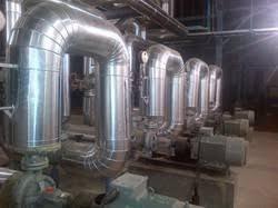 stem pipe line insulation