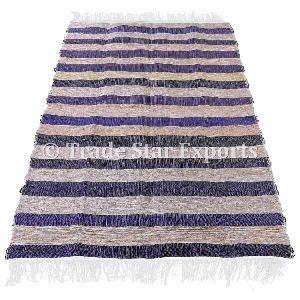 Indian Handloomed Rag Rug