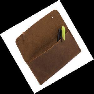 Pu Leather Eyeglasses Case / Brown