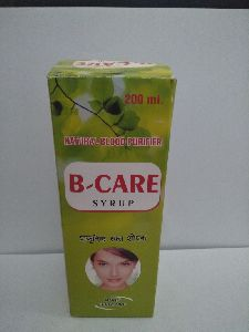 B Care Natural Blood Purifier Syrup