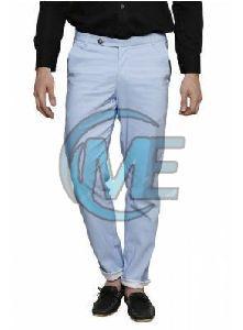 Mens Casual Cotton Trouser