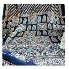 Multiprint Ajrakh Block Print Bedcover