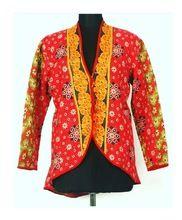 Vintage Kantha Button Down Jacket