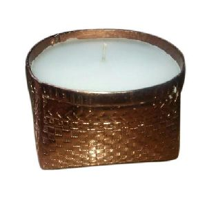 Brass Bowl Candle