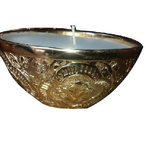 High Quality Brass Bowl Candle