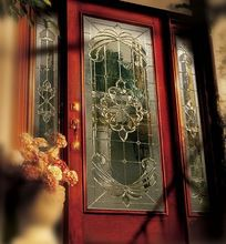 Decorative Art Door Glass