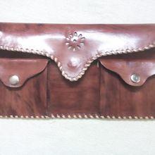 Handmade Top Grain Leather Passport Wallet