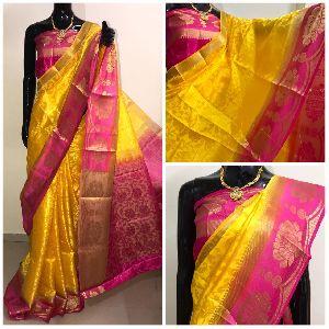 K.s Creation Balton Tussar Silk Saree