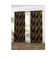 Digital Printed Cotton Living Room Curtains