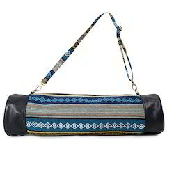 Canvas Leather Duffle Bag