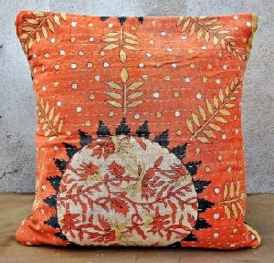 Kantha Quilt Cushion Cover