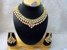 Kundan Necklace Set- Imitation Jewelry