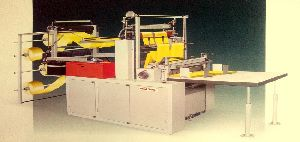Automatic Double Decker Bottom Seal Bag Making Machine