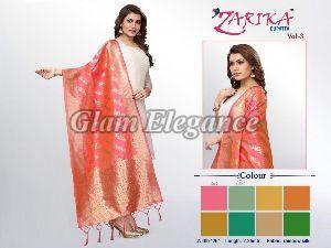 Zarika VOL-3 Rainbow Silk Dupatta