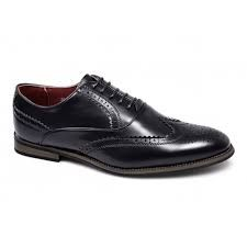 Mens Faux Leather Shoes