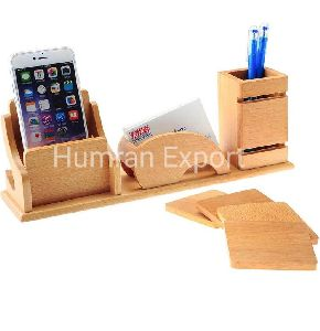 Wooden Pen Holders