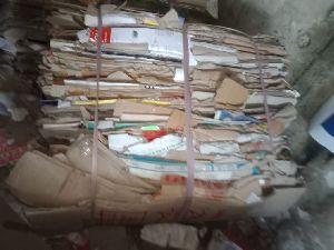 Used Corrugated Paper Scrap