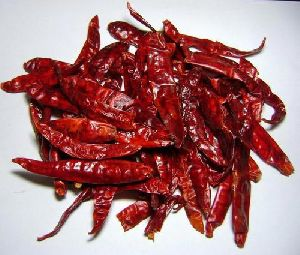 Bright Dried Red Chilli