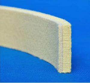 500 Degree Celsius Para Aramid Heat Insulation Felt Strip /Cooling Pad