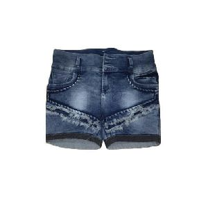 Ladies Casual Denim Shorts