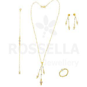 Gold Pearl Set