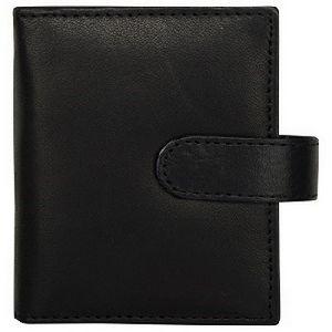 Black Genuine Leather Credit Card Holder