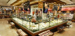Supermarket Store Interior Designing
