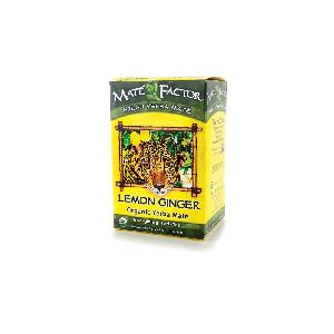 Organic Yerba Mate Lemon Ginger