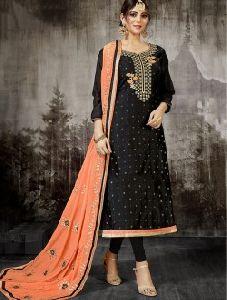Designer Gota Patti And Embroidery Work Salwar Kameez