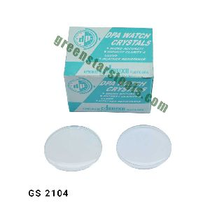 Domed Round Plastic Watch Glass