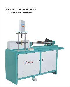 Hydraulic Cot Mounting & De-mounting Machine