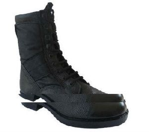 Combat Tactical Military Boot With Rubber Sole