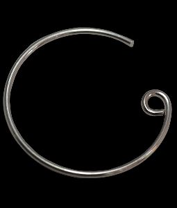 Sterling Silver Round Earwire