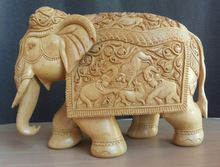 Wooden Handmade Fine Zali Work Art Wood Handicraft