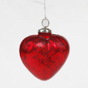 Christmas Glass Hanging Ornament