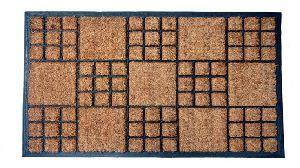 GERC104 rubberised coir mat