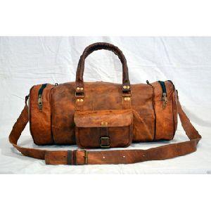 Goat Leather Gymnastic Duffle Bag